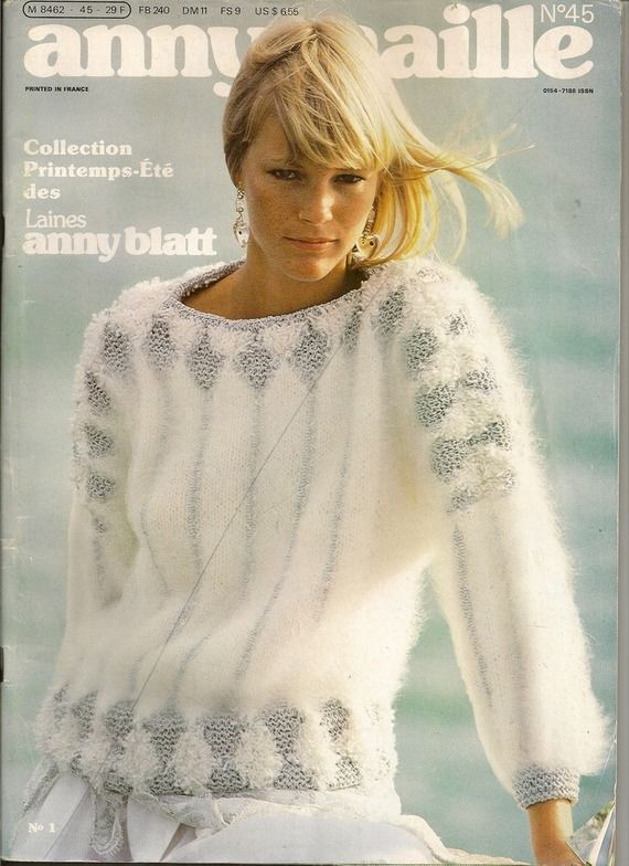 MAGAZINE ANNY BLATT N°45 tricot printemps été