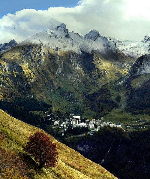Valley of Gourette, The Pyrenees, France photo via travel: Gourett, Dark Forest, Mountain, France Travel, Camino De Santiago, Autumn, Place, Spain, Wanderlust