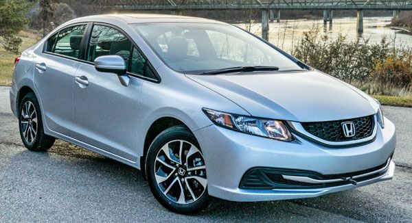 2015 Honda Civic Hybrid — Most Economical & Efficient New Cars in USA