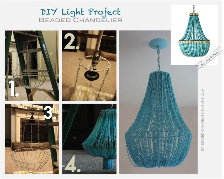 DIY - Beaded Chandelier by Gus & Lula  @ L'univers d'Inès  http://luniversdines.blogspot.pt/p/diy-do-it-yourself.html#