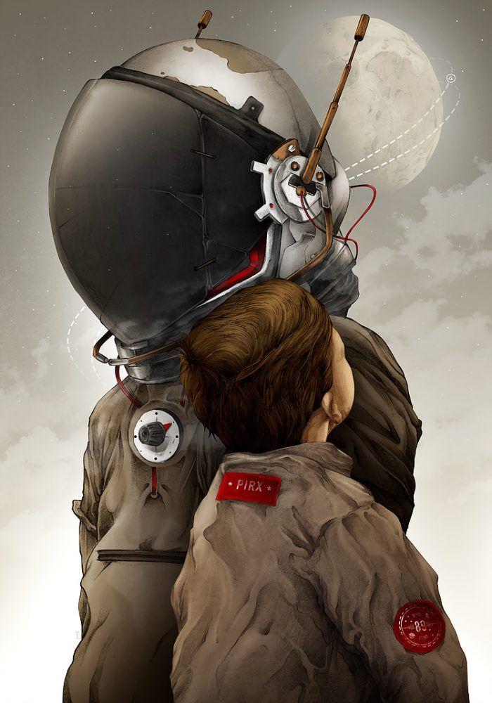 Pilot Pirx by Tomasz Majewski