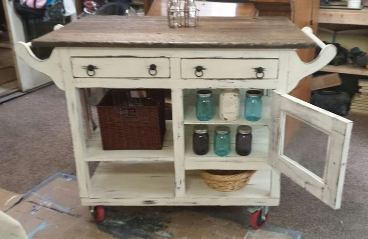 Barnwood Or Refurbished Kitchen Islands
