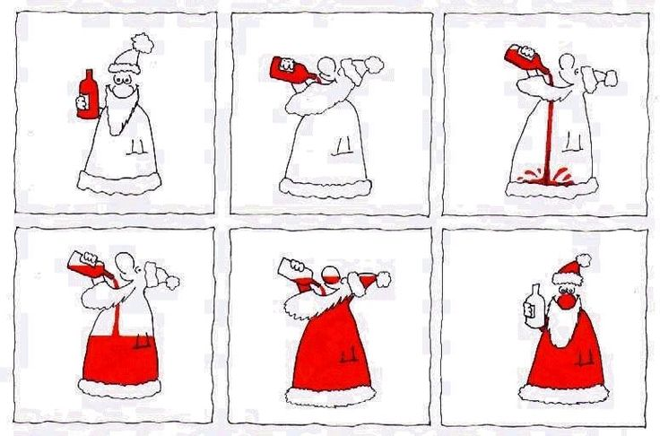 Ha! So cute....How Santa gets Jolly.