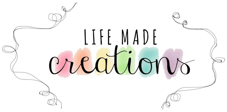 Life Made Creations, I am in love with this blog! It is all about being creative.