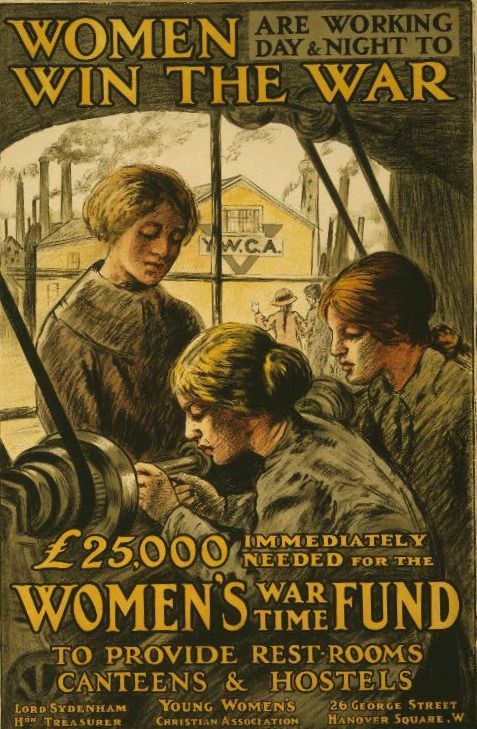 11 Photos Celebrating Women Workers of World War I - Mental Floss