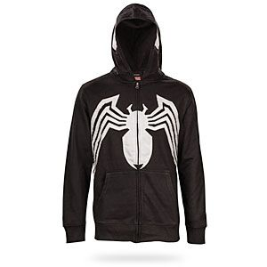 Having the Venom Hoodie around the house is useful. Can't open a pickle jar? Let Venom take over! Having a hard time carrying all those groceries? Venom's got it covered. Forgot your sweater and it's super cold outside? Merge!