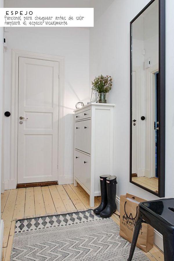 Las 25 mejores ideas sobre recibidores peque os en - Disenos de apartamentos pequenos ...