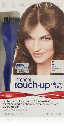 Clairol Nice 'n Easy Root Touch-Up 005 Medium Brown 1 Kit (Pack of 2) - http://essential-organic.com/clairol-nice-n-easy-root-touch-up-005-medium-brown-1-kit-pack-of-2/