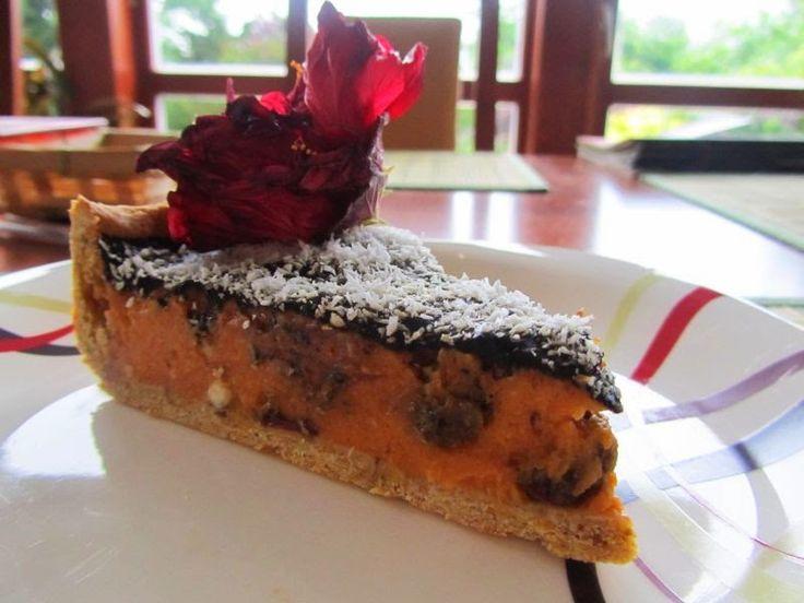 veS MÍRNA: Batátový koláč s karobem