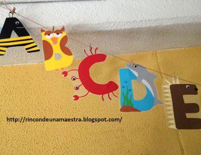 Rincón de una maestra: Nuevo abecedario