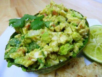 Chicken avocado salad.