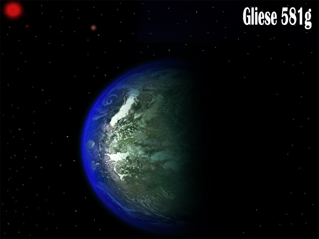 Earth-like Planet Gliese - Pics about space