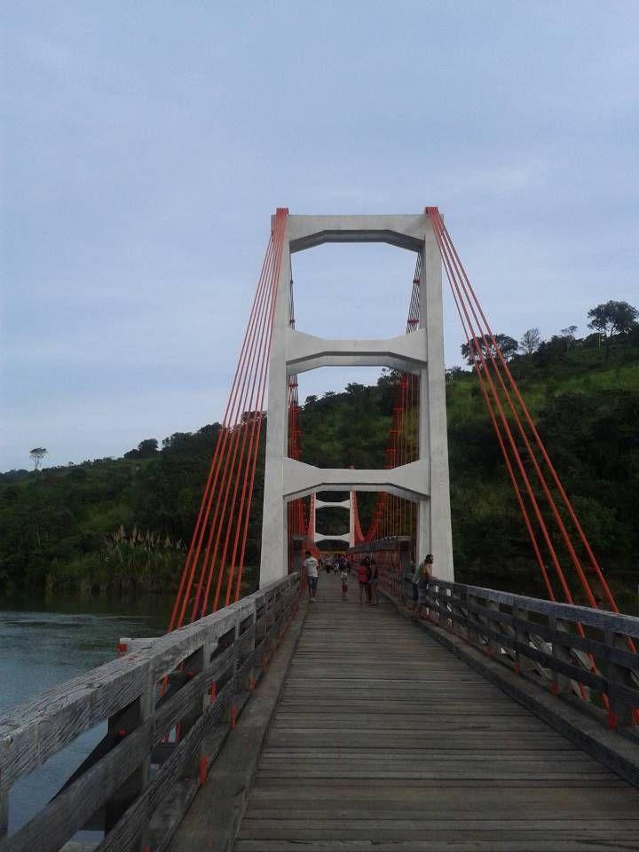 Ponte Pensil, Chavantes, SP.