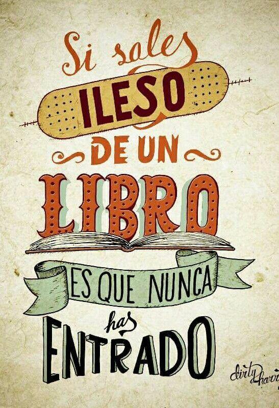 Frases que nos acercan al mundo de la lectura.    Funny quote. ¿Quieres ver más? Pincha en la imagen.