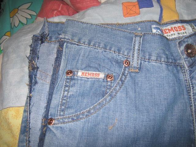 Как вшить лампасы в джинсы