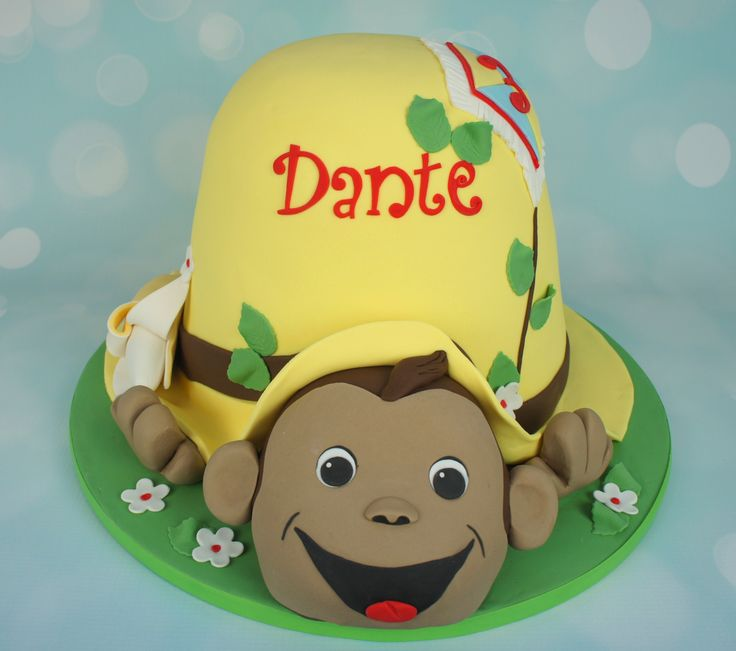 Curious George Monkey Cake