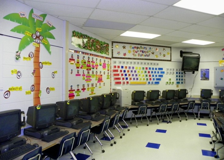 Innovative Ict Classroom ~ Best computer lab images on pinterest school