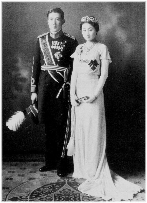 Prince Nagahisa Kitashirakawa and Sachiko Tokugawa