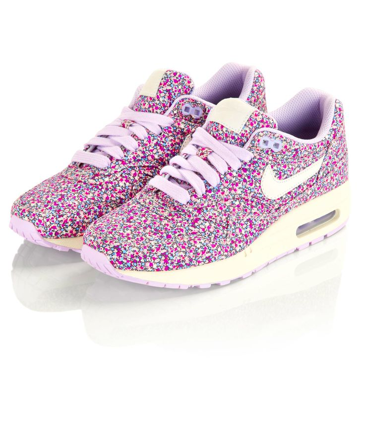 Pepper Liberty Print Air Max 1 Trainers, Nike X Liberty. Shop more Liberty print Nike trainers from the Nike X Liberty collection online at Liberty.co.uk