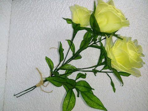 Kwiaty z bibuły# 6 Róża |  Flowers from tissue paper # 6 Rose |