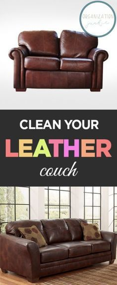 Clean Your Leather Couch| Cleaning, Cleaning Hacks, How to Clean Your Couch, Cleaning Your Couch, Cleaning 101, Cleaning Tips and Tricks, How to Clean Leather. #Cleaning #CleanYourCouch