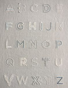 Learn to Embroider an Alphabet Sampler Kit /