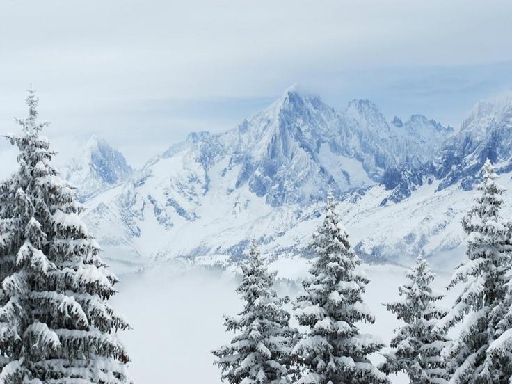 Winter In The Alps Charming Winter Scenes ♡ Pinterest