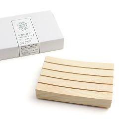 木曽生活研究所/木曽の檜でつくったソープディッシュ