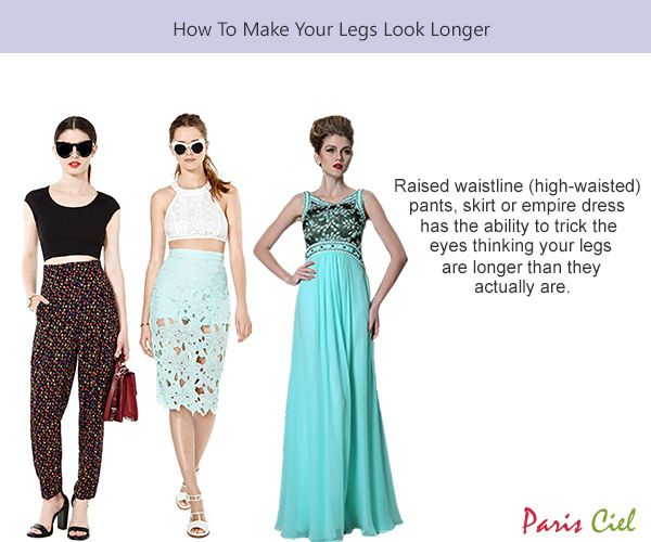 how to make your legs look smaller