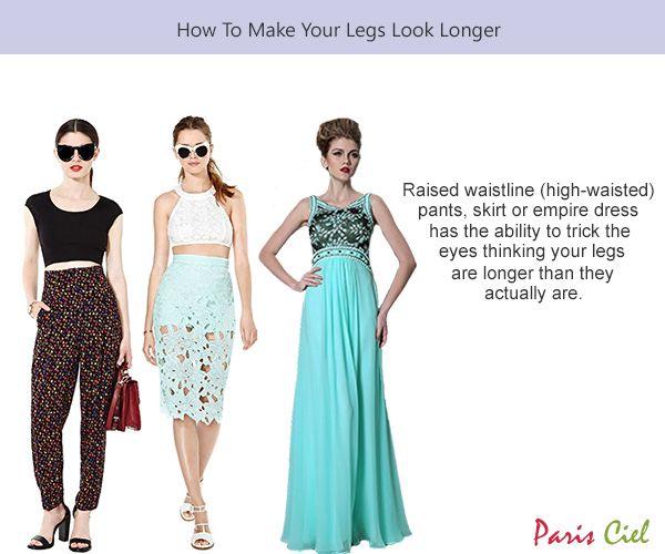 Make a dress look longer