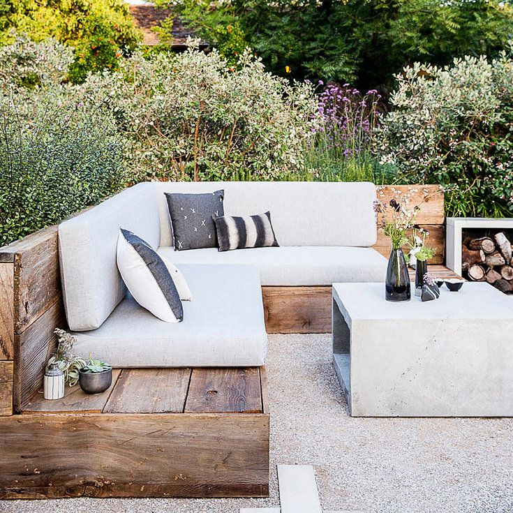 Reclaimed style - Favorite Outdoor Furniture - Love the reuse/re-purpose/recycle projects #Contest