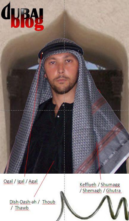 Abito bianco arabo corso