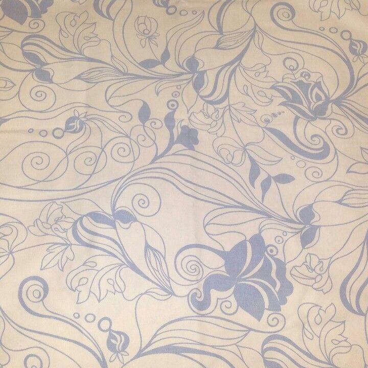 Swirl Floral/Ginger Vine