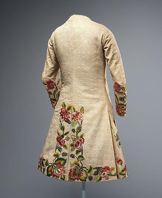 Early 18th century Waistcoat, British @Karen Bitterman Museum of Art: