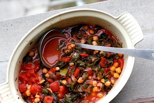 ... tomato and chickpea soup chickpea tomato soup chard garlicky swiss