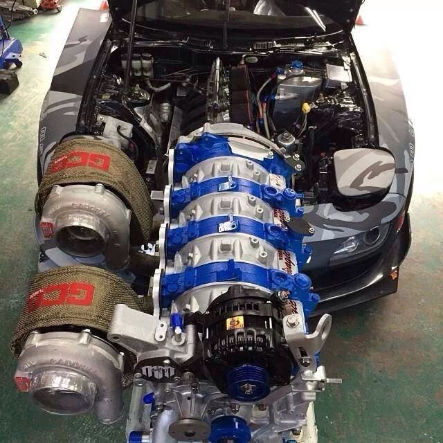 Twin Turbo Kit Rx7: Mazda, Rx7 And Twin Turbo On Pinterest