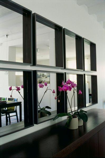 1000 id es sur le th me miroirs carr s sur pinterest collage miroir miroirs muraux et parois. Black Bedroom Furniture Sets. Home Design Ideas