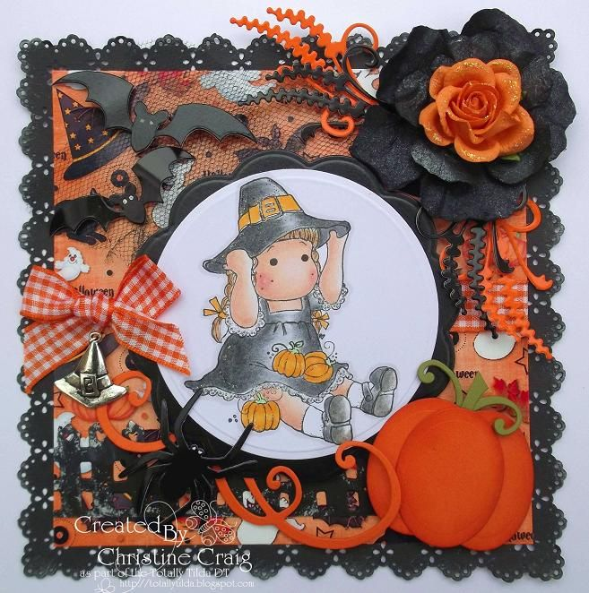 Halloween Tilda card