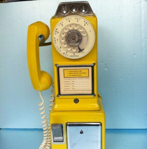 Yellow Payphone