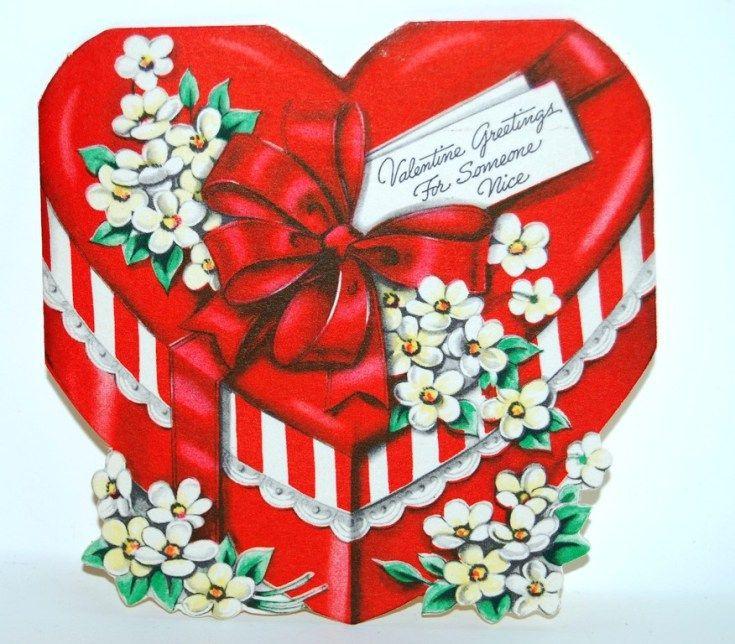2229 best images about Vintage Valentine Images – Box of Valentine Cards