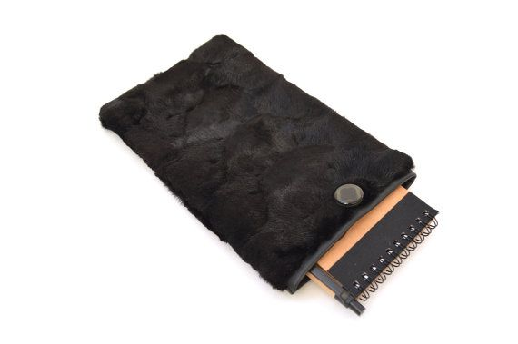 Real fur tablet case Samsung tablet 8case real fur sleeve by BeFur