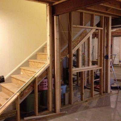 DIY Decor Industrial Basement Remodel | Industrial ...