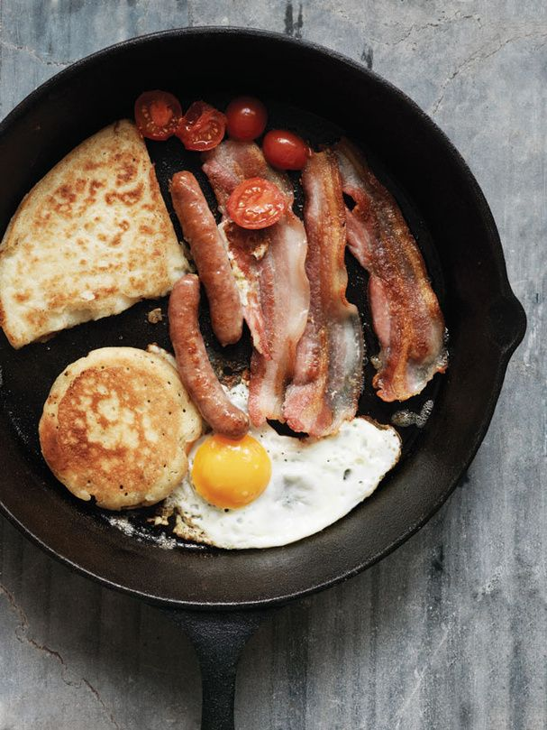 L'ulster fry : Le petite déjeuner à l'Irlandaise ! Gras et peu sucré