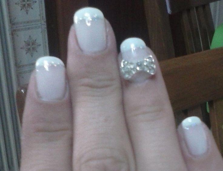 my wedding manicure - details
