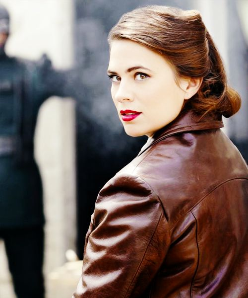 "WOW!!! She's gorgeous! Hayley Atwell as Agent Peggy Carter in Agents of SHIELD 2x01 ""Shadows"""