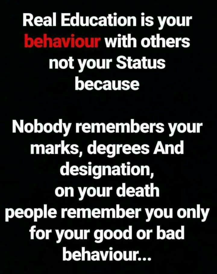 Quotes On Behaviour In English