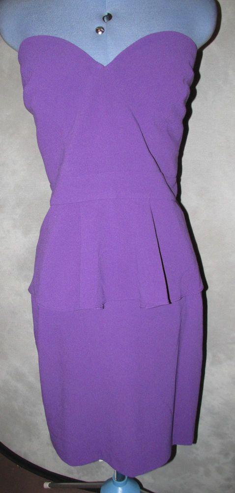 Myleene Klass,ladies,plus,size 24,purple,no pattern,bandeau,Cocktail,Dress.