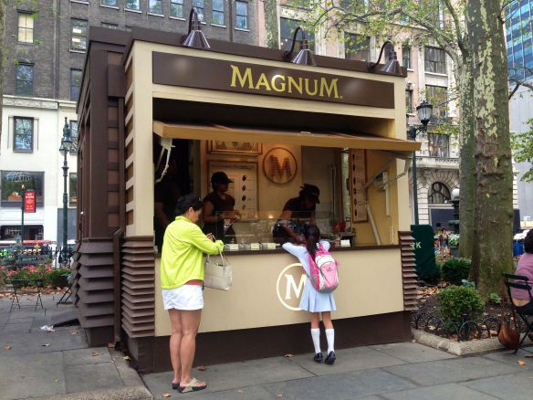 This Magnum Ice Cream Pop-Up Shop Puts Customers In Charge #marketing trendhunter.com