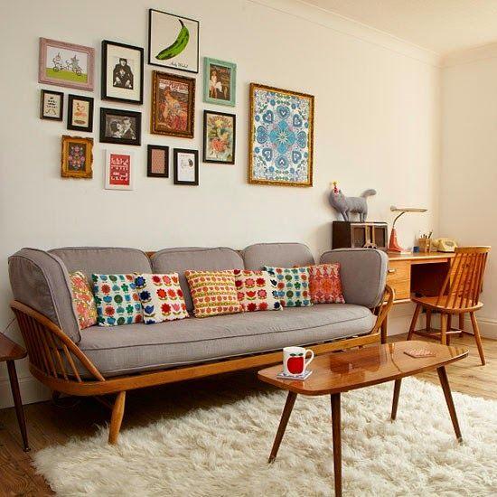 kthomedesigns.com: Küçük Oturma Odaları için Dekorasyon Fikirleri