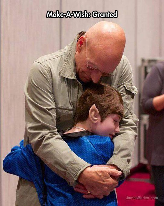 Sir Patrick Stewart Is A Great Guy